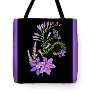 Purples Tote Bag