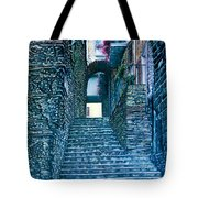 Purplesteps Tote Bag