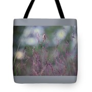 Purpletop, Tridens Flavus, A Native Grass Species, East Coast, United States. Tote Bag