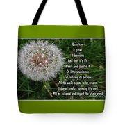 Purpose Tote Bag by Leona Atkinson
