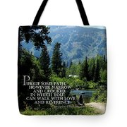 Pursue Some Path Tote Bag