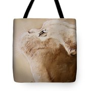 Purty Face Tote Bag