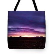 Puruple Sunset Tote Bag