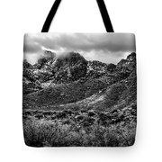 Pusch Ridge Snow No10 Tote Bag