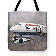 Push Back 747 Style London Tote Bag