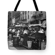 Pushcart Market, 1939 Tote Bag
