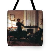 Pushkin In The Village Mihaylovskoye Tote Bag