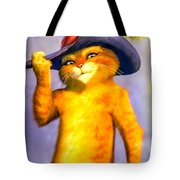 Puss In Boot Tote Bag