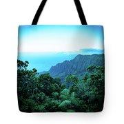Puu O Kila Lookout, Kauai, Hi Tote Bag