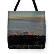 Pu'us Aglow In Late Afternoon Light Tote Bag