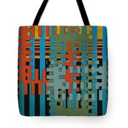 Puzzled Tote Bag by Ben and Raisa Gertsberg