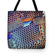 Pvc Abstract Tote Bag