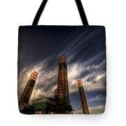 Pylons Tote Bag