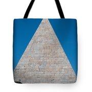 Pyramid Of Caius Cestius Tote Bag