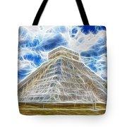 Pyramid Of The Maya  Tote Bag