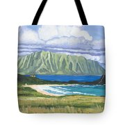 Pyramid Rock Tote Bag