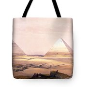 Pyramids Of Geezeh - Egypt Tote Bag