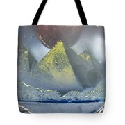 Pyramids Of The Red Moon Tote Bag