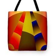Pyramids Pendulum Tote Bag