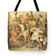 Pyrrhus Arrives In Italy With His Troupe Tote Bag