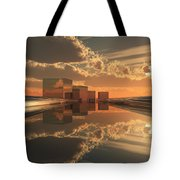 Q-city Five Tote Bag