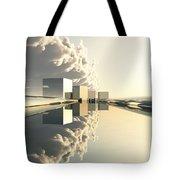 Q-city Four Tote Bag