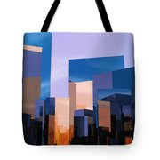 Q-city One Tote Bag
