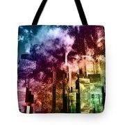 Q-city Three Tote Bag