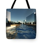 Q-city Two Tote Bag