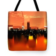 Q-city Zero Tote Bag