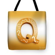 Q For Education And Learning Tote Bag