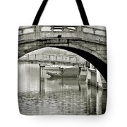 Qibao - Shanghai's Living Fossil Tote Bag by Christine Till
