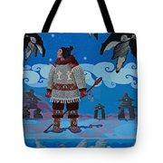 Qikiqtaaluk Whale Dreamer Tote Bag