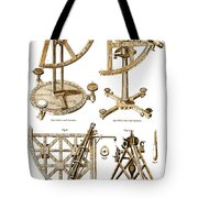 Quadrants And Sextant, 1790 Tote Bag