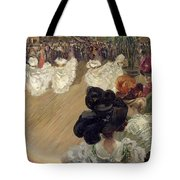 Quadrille At The Bal Tabarin Tote Bag by Abel-Truchet