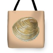 Quahog Shell Tote Bag