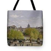 Quai Du Louvre In Paris Tote Bag