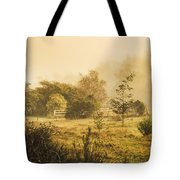 Quaint Countryside Scene Of Glen Huon Tote Bag