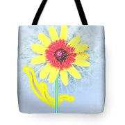 Quaint Little Daisy Tote Bag