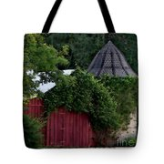 Quaint Red Barn  Tote Bag