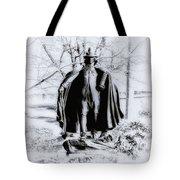 Quaker Pilgrim Tote Bag by Bill Cannon