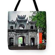 Quan Thanh Temple Gate Tote Bag