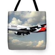 Quantas Boeing 747 Tote Bag
