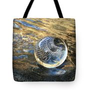 Orion With Blue And Gold Tote Bag