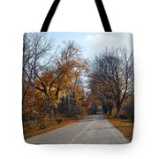 Quarterline Road Tote Bag