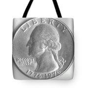 Quarters Plaque Tote Bag