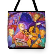 Quartet For The End Of Time Tote Bag