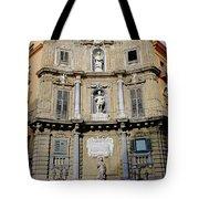 Quattro Canti In Palermo Sicily Tote Bag