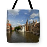 Quay Of The Rosary In Bruges Belgium Tote Bag