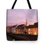 Quayside Rosy Sunlight Tote Bag